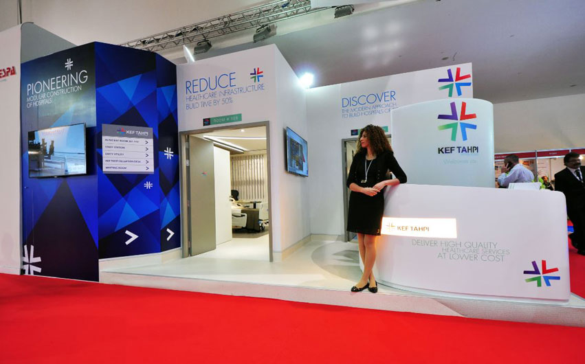 Event planning agency, Brand activation events, Arab Health Exhibition KEF Holdings