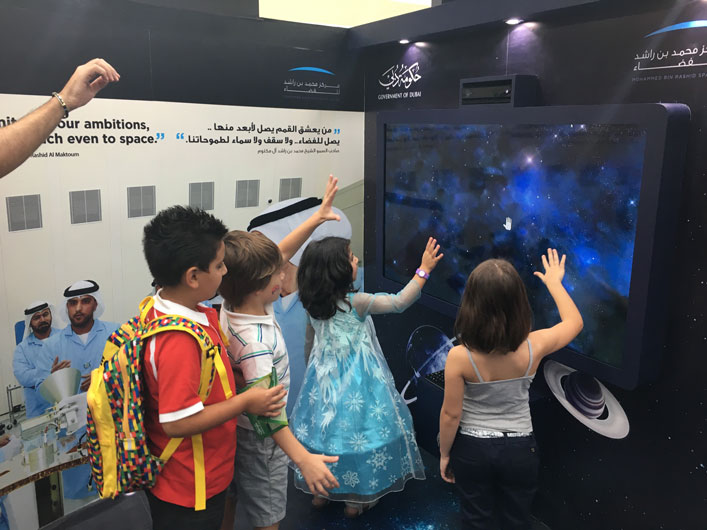 Event planning company   Brand activations   Mohammad Bin Rashid Space Centre event in UAE