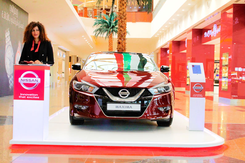 Event planning agency, Brand activations events, Nissan Mall Road Show