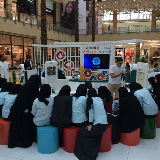 Event planning agency, Brand activations, World Energy Day by DEWA events in UAE