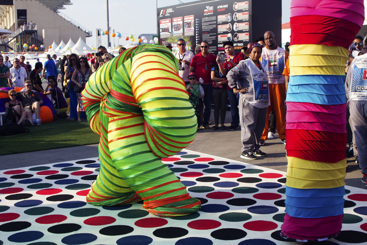 Public events and entertainment event management in Dubai, UAE | Formula 1 2015 Yas Marina Circuit events